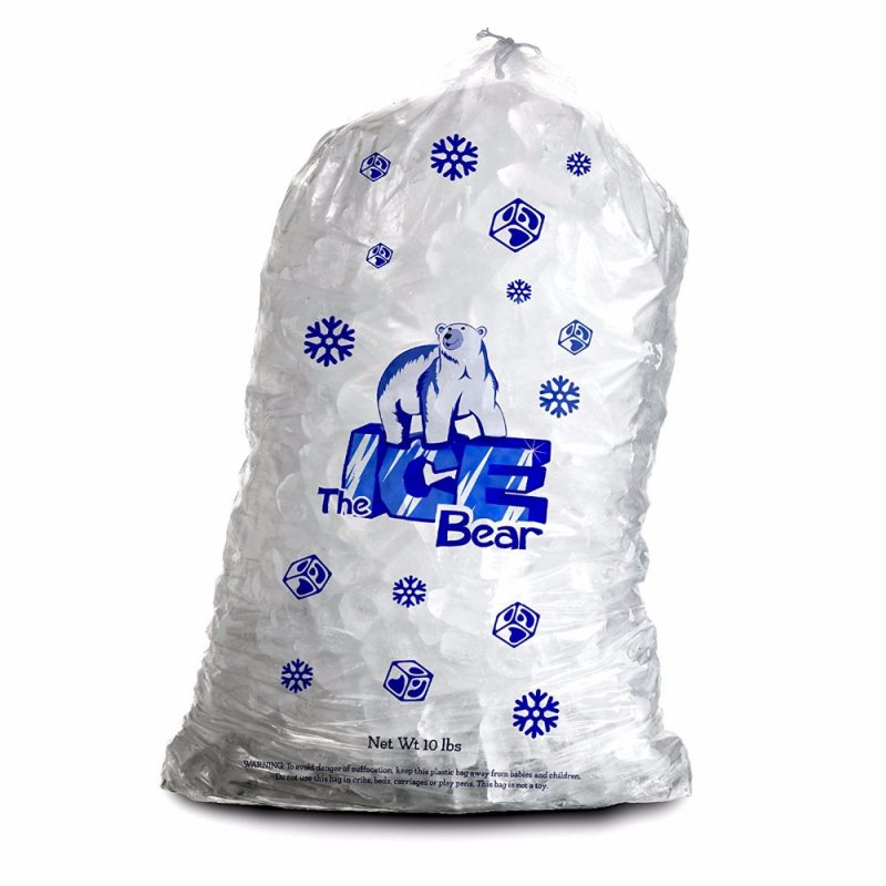 drawstring ice bags