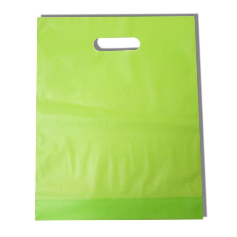 Plain die cut handle bags